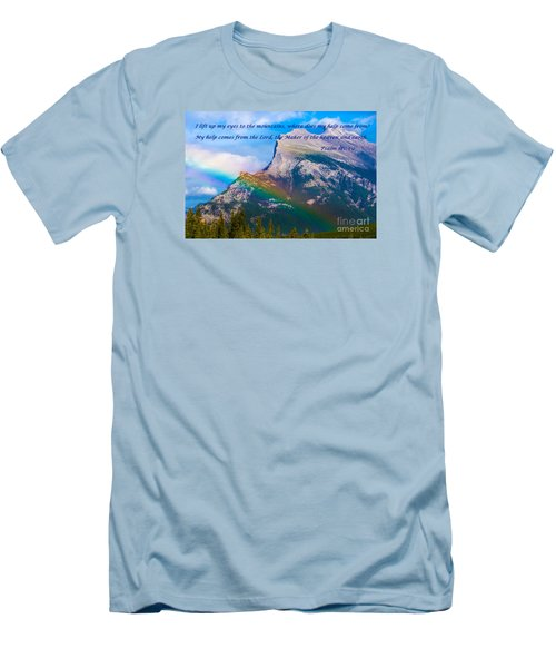 Psalm 121   1-2 Men's T-Shirt (Athletic Fit)