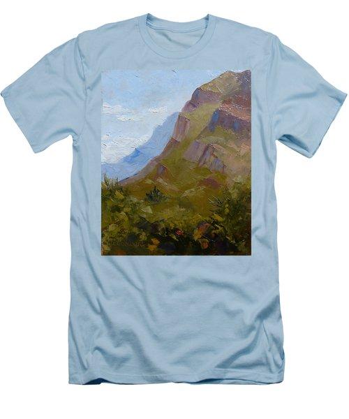 Pusch Ridge I Men's T-Shirt (Slim Fit) by Susan Woodward