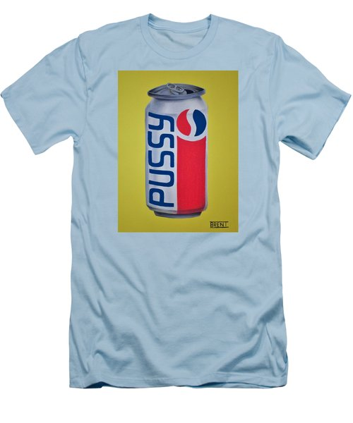 Pussy Pop Can Men's T-Shirt (Athletic Fit)