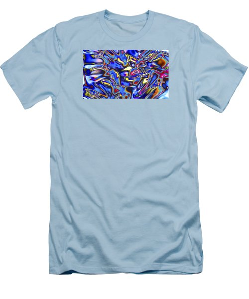 Quantum Entangled Soul... Men's T-Shirt (Athletic Fit)