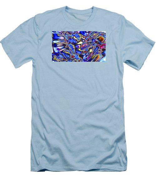 Quantum Entangled Soul... Men's T-Shirt (Athletic Fit)