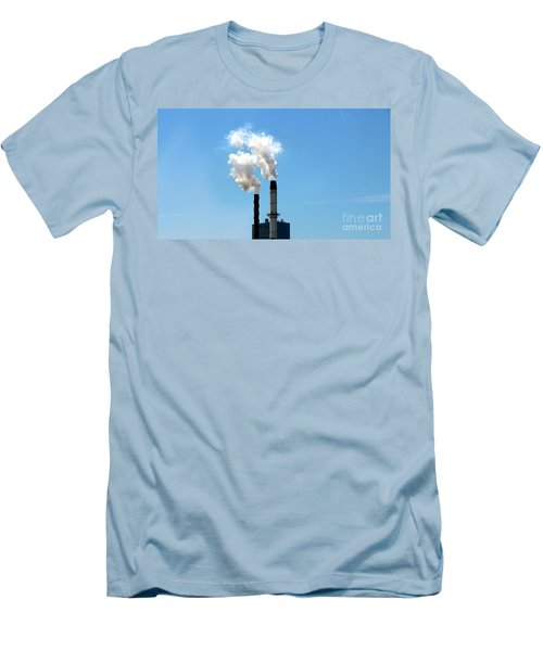 Men's T-Shirt (Slim Fit) featuring the photograph Quit by Stephen Mitchell