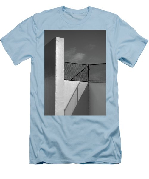 Men's T-Shirt (Slim Fit) featuring the photograph Racquetball IIi  by Richard Rizzo