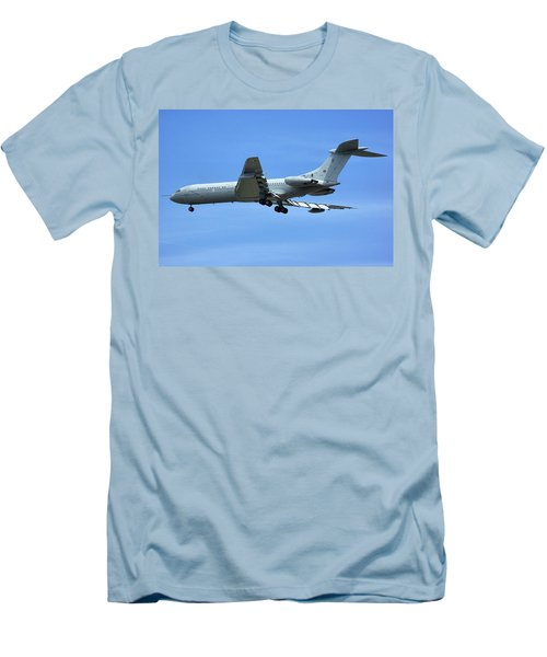 Men's T-Shirt (Slim Fit) featuring the photograph Raf Vickers Vc10 C1k by Tim Beach