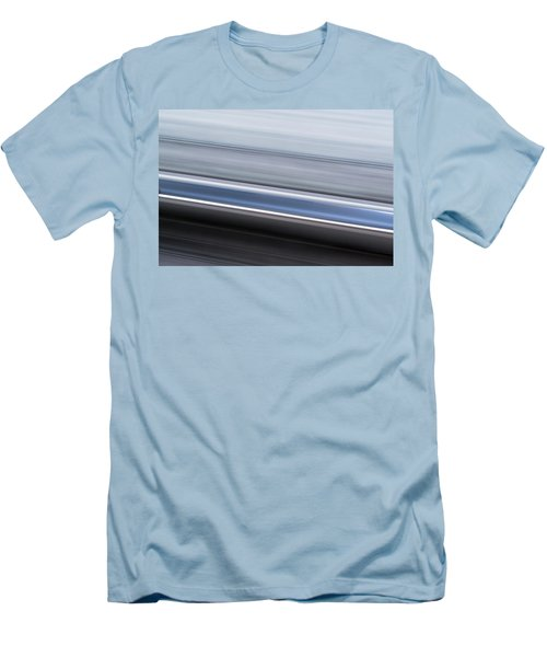Men's T-Shirt (Slim Fit) featuring the photograph Railway Lines by John Williams