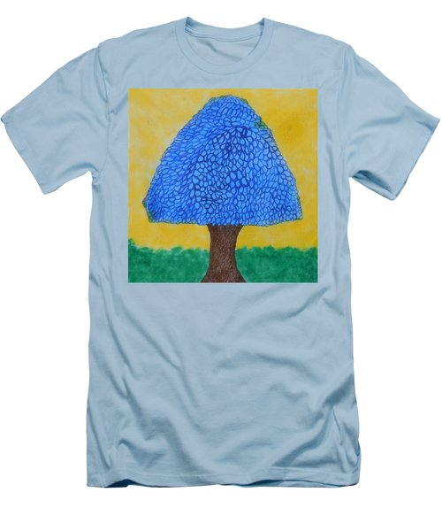 Rain Harmony Tree Men's T-Shirt (Slim Fit)