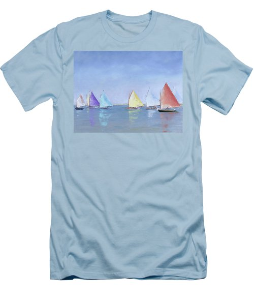 Rainbow Fleet Men's T-Shirt (Athletic Fit)