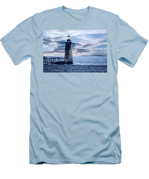Ram Island Head Lighthouse.jpg Men's T-Shirt (Athletic Fit)