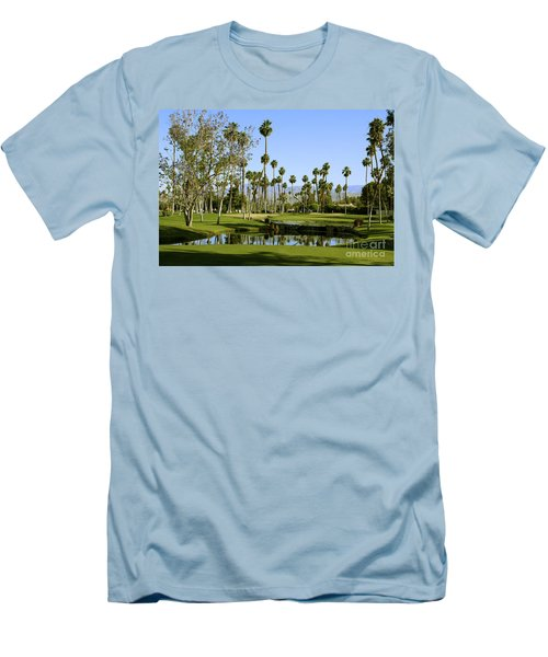 Rancho Mirage Golf Course Men's T-Shirt (Athletic Fit)