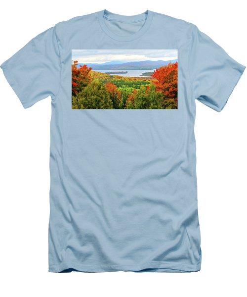 Rangeley Lake And Rangeley Plantation Men's T-Shirt (Athletic Fit)