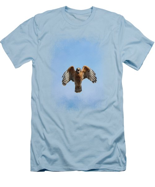 Raptor's Warning Men's T-Shirt (Athletic Fit)