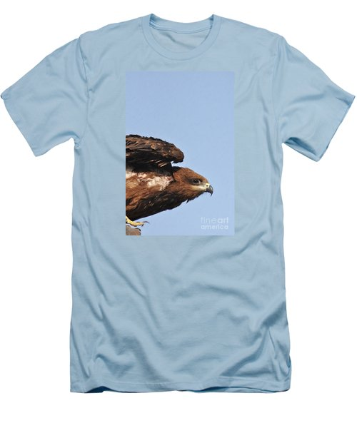 Ready To Take Off Men's T-Shirt (Athletic Fit)