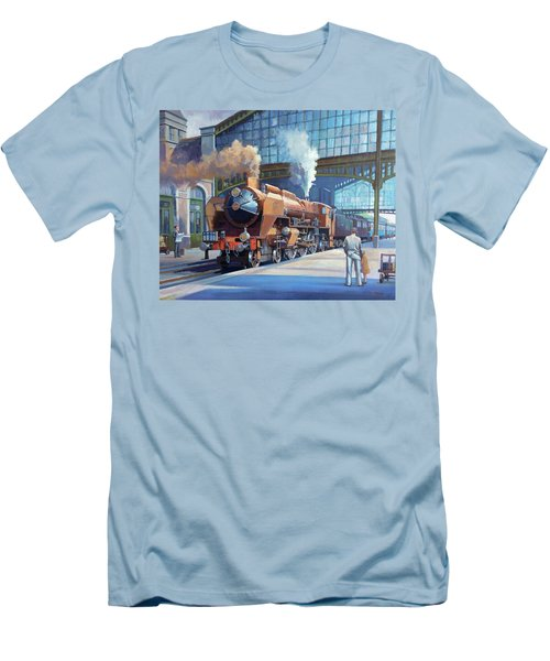 Rebuilt Chapelon Pacific At Calais. Men's T-Shirt (Slim Fit) by Mike  Jeffries