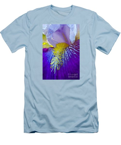 Recollection Spring 3 Men's T-Shirt (Slim Fit) by Jean Bernard Roussilhe