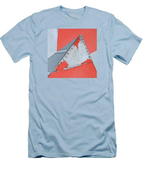 Red Rocket Men's T-Shirt (Slim Fit) by Paul Moss