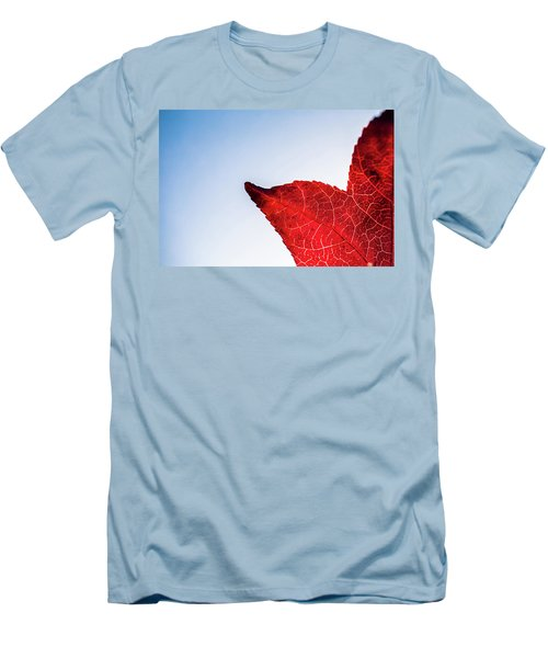 Men's T-Shirt (Athletic Fit) featuring the photograph Red White  Blue by Jingjits Photography
