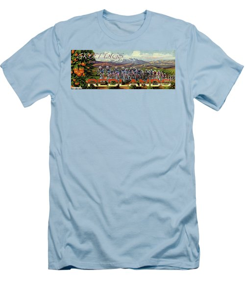 Redlands Greetings Men's T-Shirt (Athletic Fit)