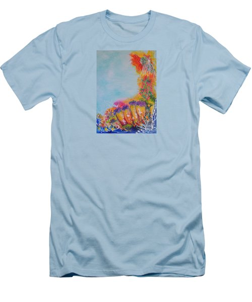 Reef Corals Men's T-Shirt (Athletic Fit)