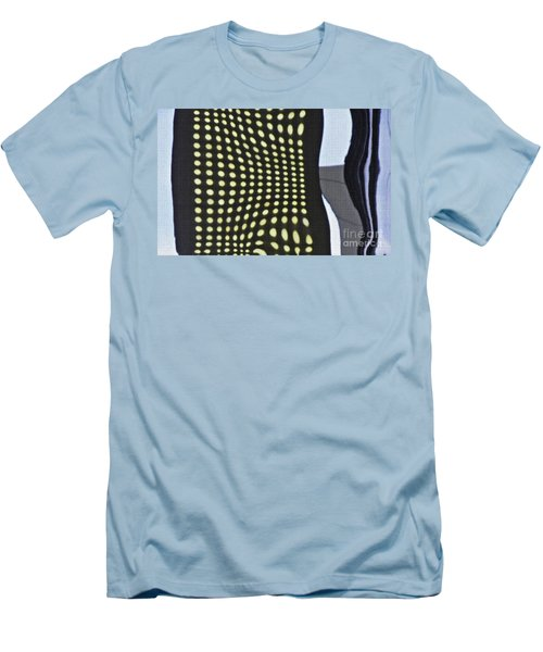 Men's T-Shirt (Slim Fit) featuring the photograph Reflection On 42nd Street 2 by Sarah Loft