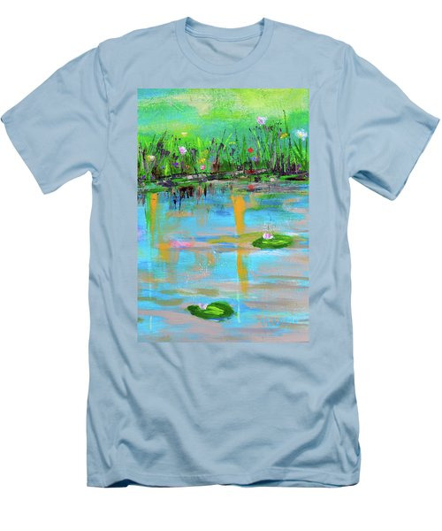 Reflections In Spring Men's T-Shirt (Athletic Fit)