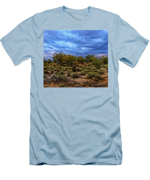 Men's T-Shirt (Athletic Fit) featuring the photograph Rejuvenation Op19 by Mark Myhaver