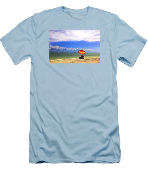 Relaxing On Sanibel Men's T-Shirt (Athletic Fit)