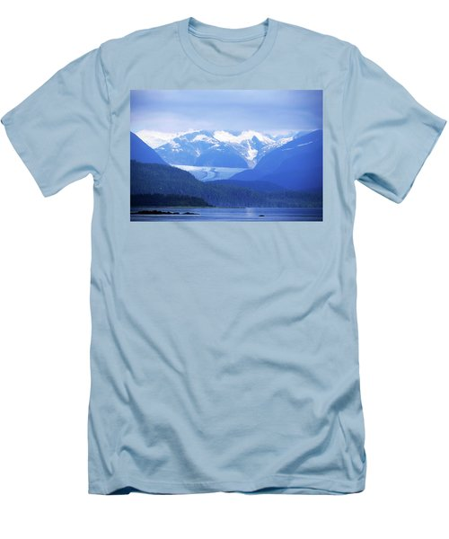 Remains Of A Glacier Men's T-Shirt (Athletic Fit)