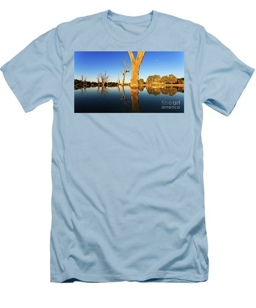 Men's T-Shirt (Slim Fit) featuring the photograph Renamrk Murray River South Australia by Bill Robinson