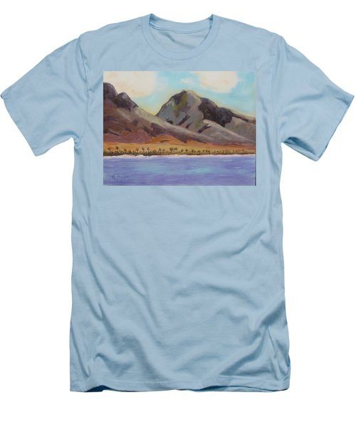 Return To Maui Men's T-Shirt (Athletic Fit)