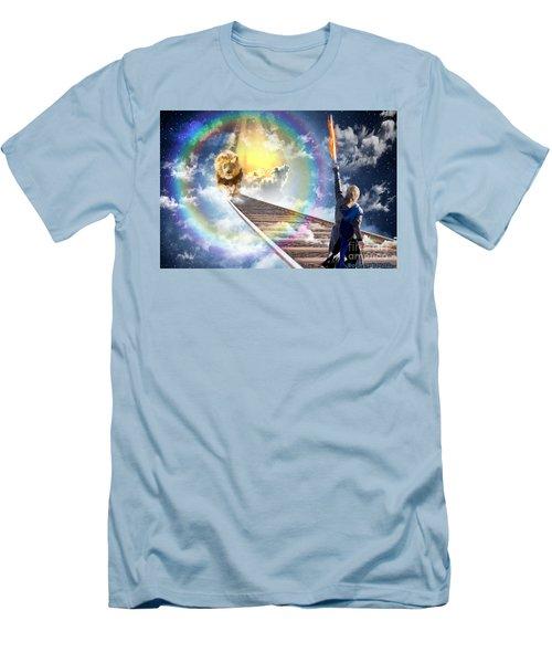 Men's T-Shirt (Slim Fit) featuring the digital art Reward by Dolores Develde