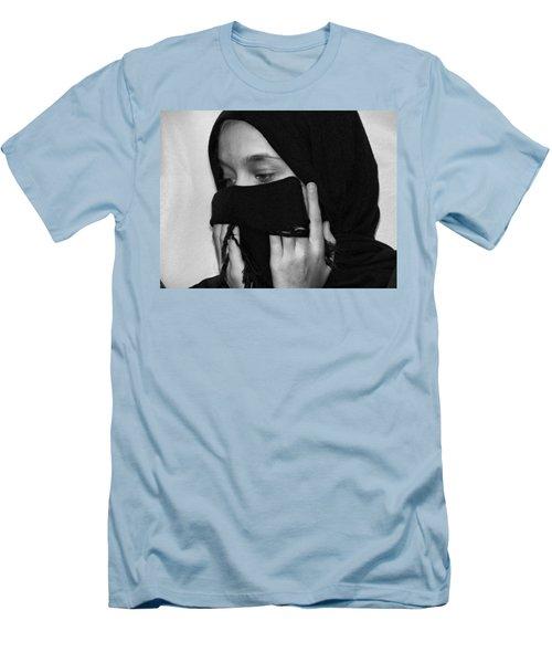 Rezadeira Men's T-Shirt (Slim Fit) by Beto Machado
