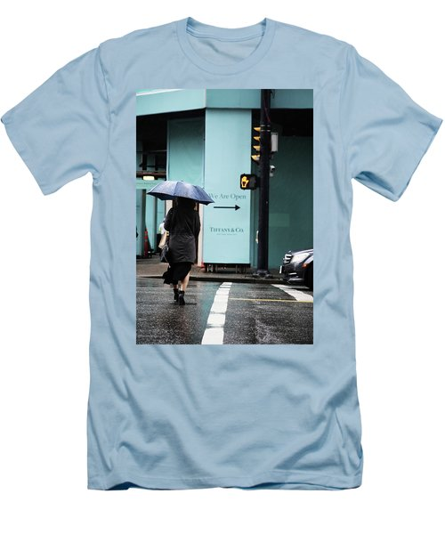 Right  Men's T-Shirt (Slim Fit) by Empty Wall