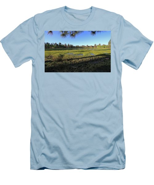 Men's T-Shirt (Slim Fit) featuring the photograph Rim Glade by Gary Kaylor