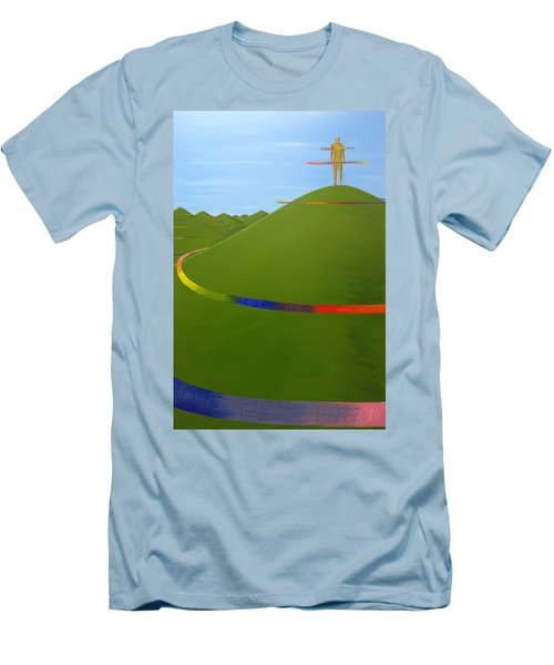 Ripples Of Life 1.4 Men's T-Shirt (Athletic Fit)