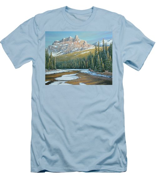 Rising Over The Valley Men's T-Shirt (Athletic Fit)
