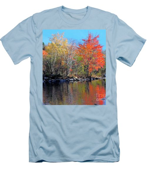 River Color Men's T-Shirt (Athletic Fit)