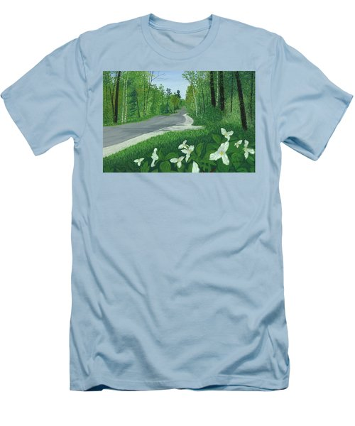Road To Northport - Spring Men's T-Shirt (Athletic Fit)