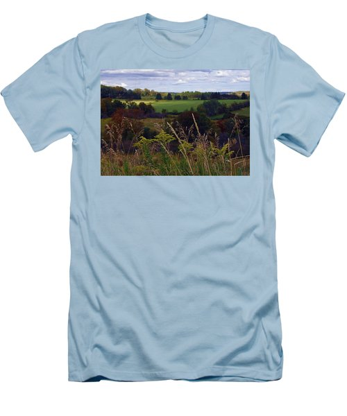 Roadside Wanderings Men's T-Shirt (Athletic Fit)