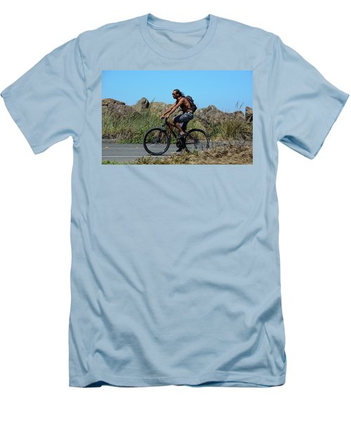 Men's T-Shirt (Athletic Fit) featuring the photograph Roaming America by Tikvah's Hope