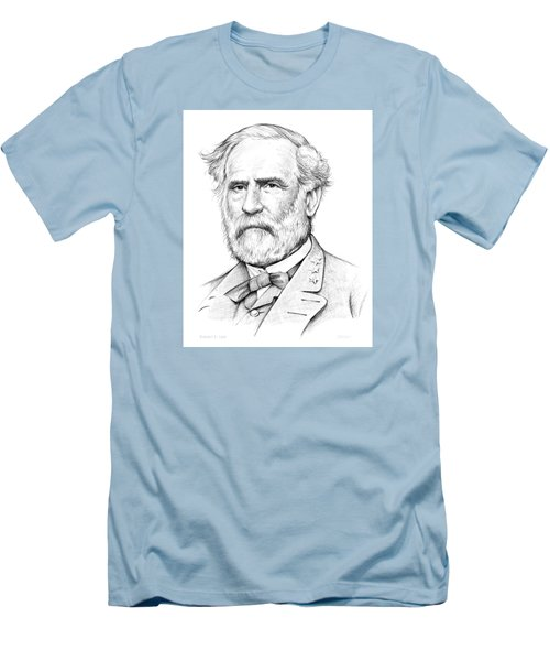 Robert E. Lee Men's T-Shirt (Slim Fit) by Greg Joens
