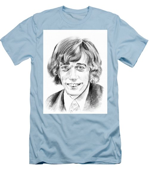 Robin Gibb Drawing Men's T-Shirt (Athletic Fit)