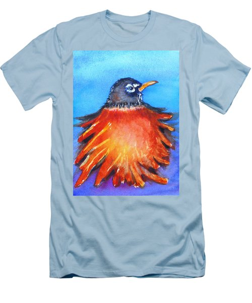 Rockin Robin Men's T-Shirt (Athletic Fit)