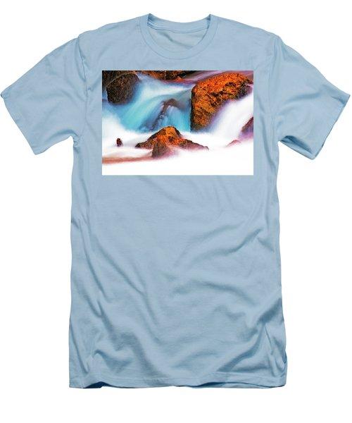 Rocks Of Zion Men's T-Shirt (Athletic Fit)