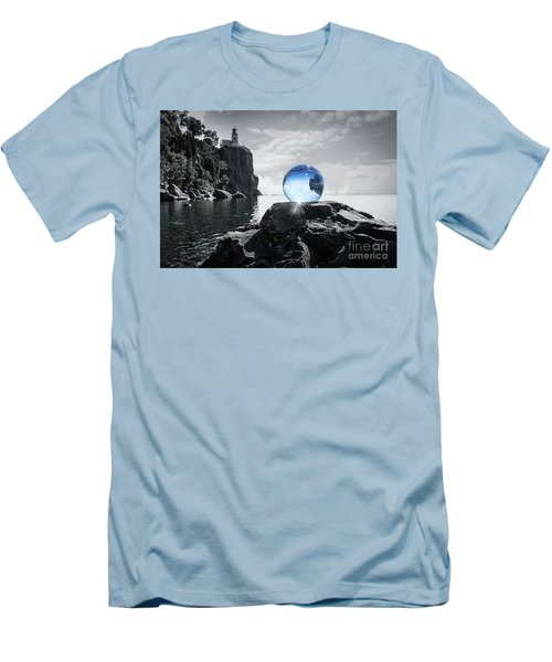 Rocky Crystal Men's T-Shirt (Athletic Fit)