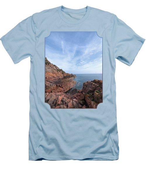 Rocky Ocean Inlet - Jersey Men's T-Shirt (Athletic Fit)
