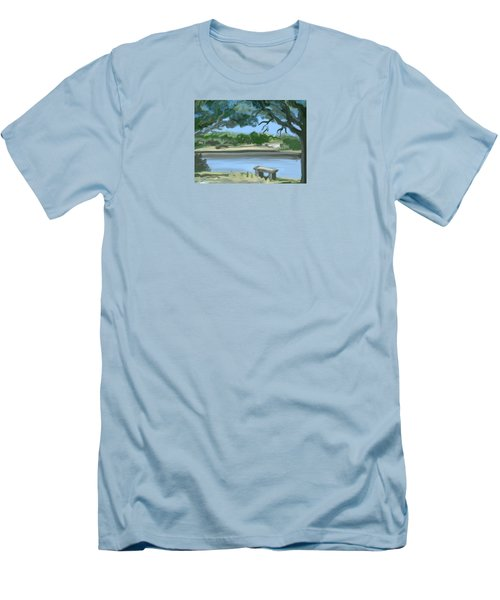 Rosemary Lake Men's T-Shirt (Athletic Fit)
