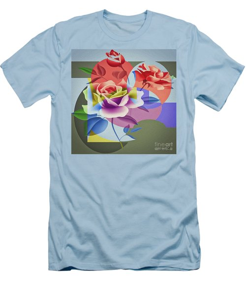 Roses For Her Men's T-Shirt (Athletic Fit)