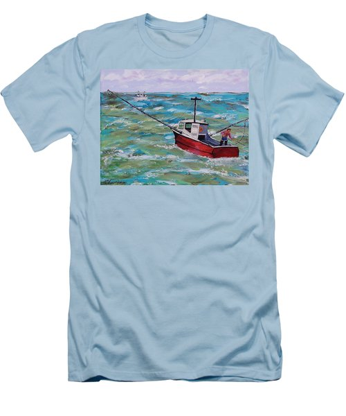 Rough Sea Men's T-Shirt (Athletic Fit)
