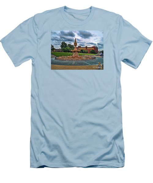 Men's T-Shirt (Slim Fit) featuring the photograph Round About by Roberta Byram