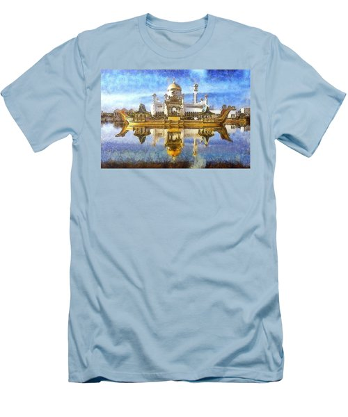 Royal Mosque  Men's T-Shirt (Athletic Fit)